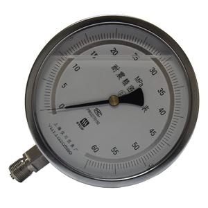 <b>电镀锌耐震精密压力表</b>